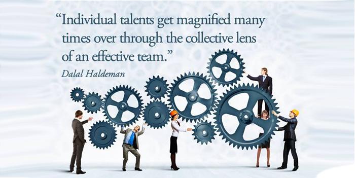 გუნდურობა, პასუხისმგებლობა და წარმატება