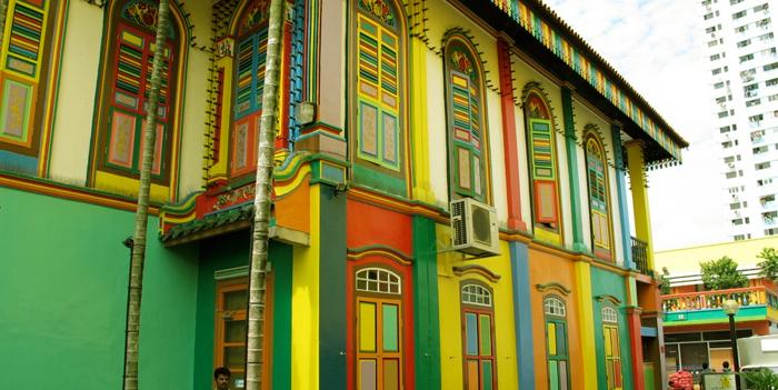 პოსტები სინგაპურიდან - ჭრელი ქალაქი