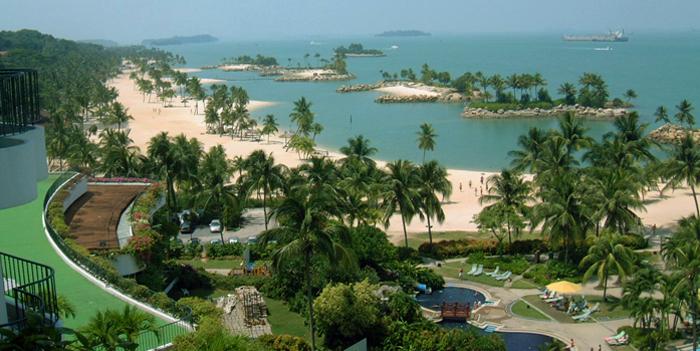 პოსტები სინგაპურიდან - ხელოვნური კუნძული
