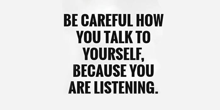 და ბოლოს, საკუთარ თავთან საუბარი ისე ნუ გაგიტაცებთ, რომ სხვებთან დიალოგი დაგავიწყოთ. აქაც, ისევე როგორც ყველა სხვა შემთხვევაში მნიშვნელოვანია ბალანსის დაცვა 