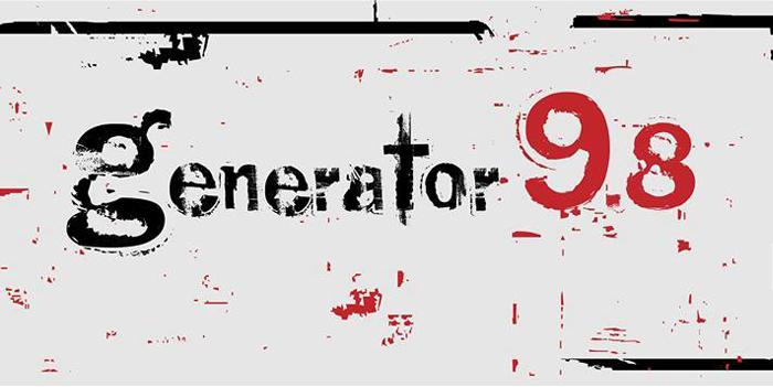 გენერატორი 9,8