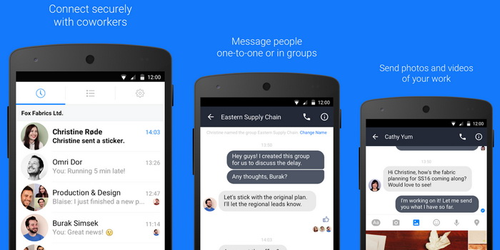 Work Chat - ფეისბუკის პასუხი პროკრასტინაციას