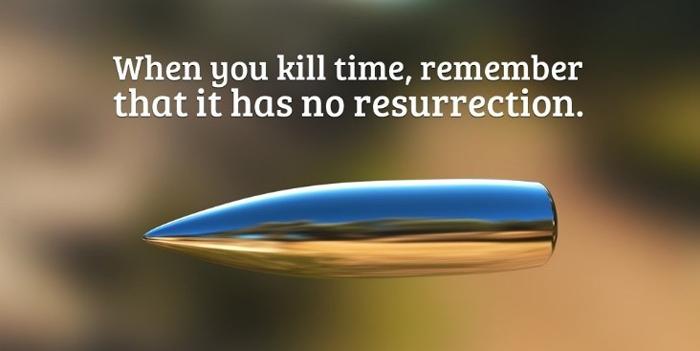 ნუ მოკლავ დროს!